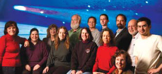 Members of the CMPS Deep Impact Team