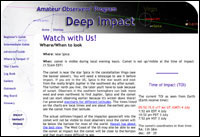 Amateur observers' reports and observations