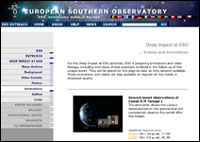 European Southern Observatory animations and videos